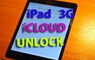ipad 3g icloud unlock