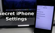 iPhone Settings Using Hidden Codes