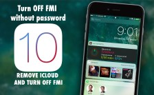 remove iCloud Turn OFF FMI without password