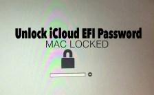 Unlock iCloud EFI Password Apple iMac