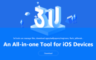 3uTools software can manage files jailbreak and iDevice information