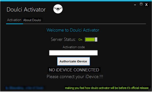 doulci activator itunes error