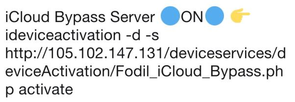 icloud bypass server free