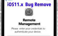 New ios11 bug mdm bypass (Mobile Device Management)