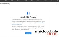 How to Download All Data Associated to your Apple Account
