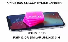 New BUG - Unlock carrier to any iphone using RSIM and ICCID
