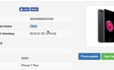 Free IMEI blacklist checker lost or stolen
