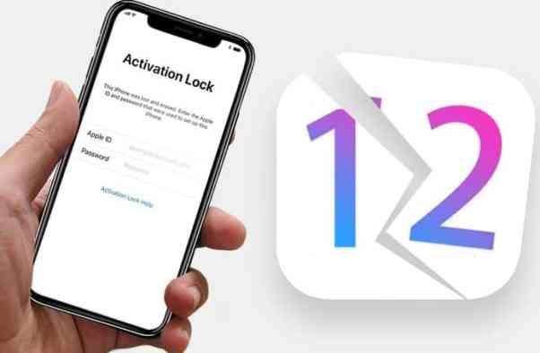 Icloud lock iOS12
