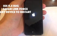 iOS 11.4.1 bug iphone crash with CSS safari link