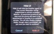 GRAYSHIFT spyware unlock iPhone passcode secretly