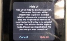 GRAYSHIFT spyware unlock iPhone passcode secretly