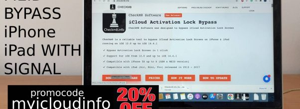 Full icloud bypass MEID with signal Checkm8.info