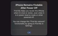 iOS 15 Find My network can still find your iPhone when it is powered off, or factory reset