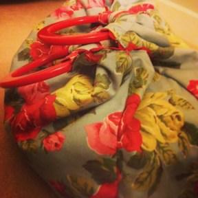 Birthday present project bag