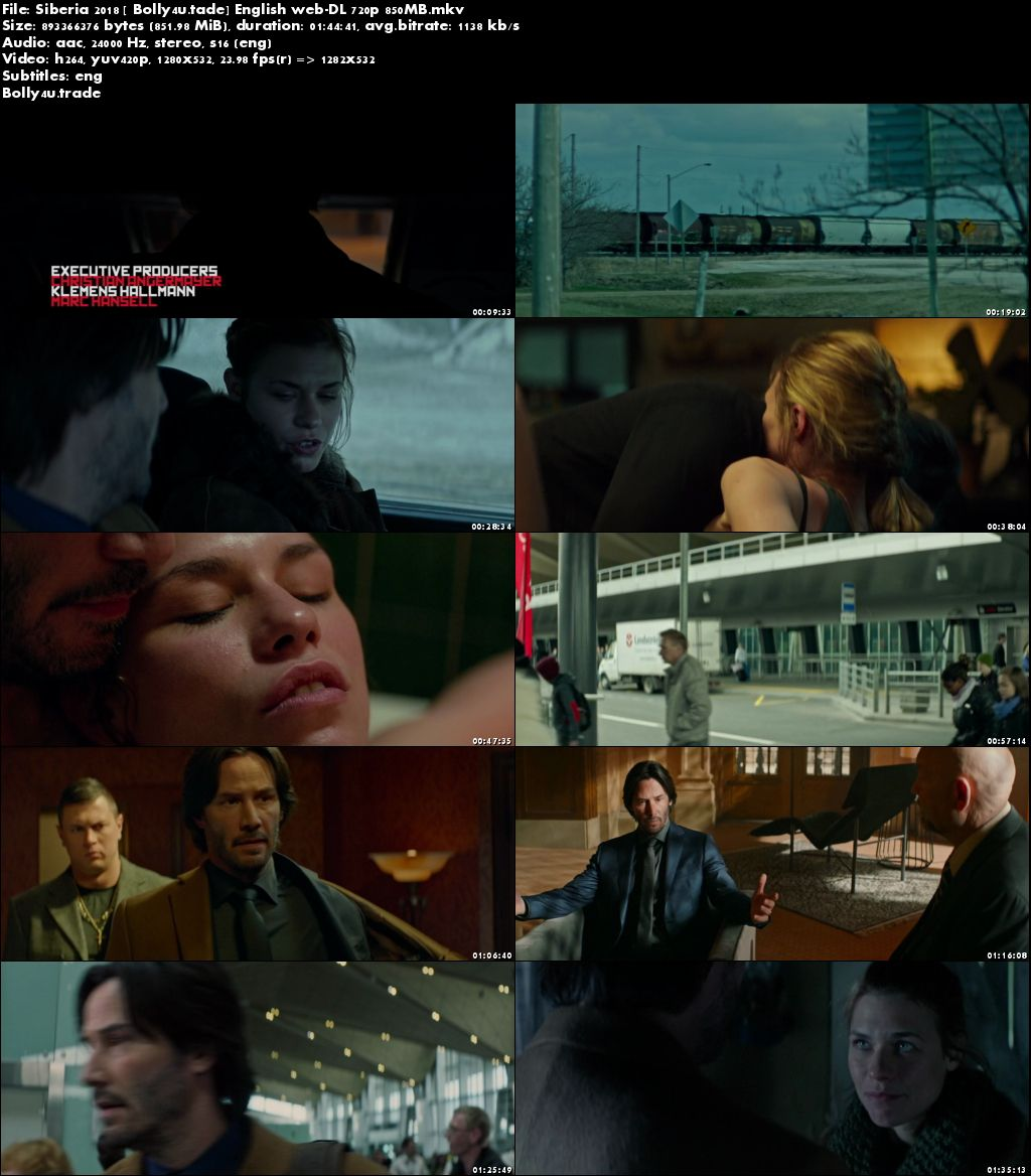 Siberia 2018 WEB-DL 850Mb Full Hindi Movie Download 720p ESub