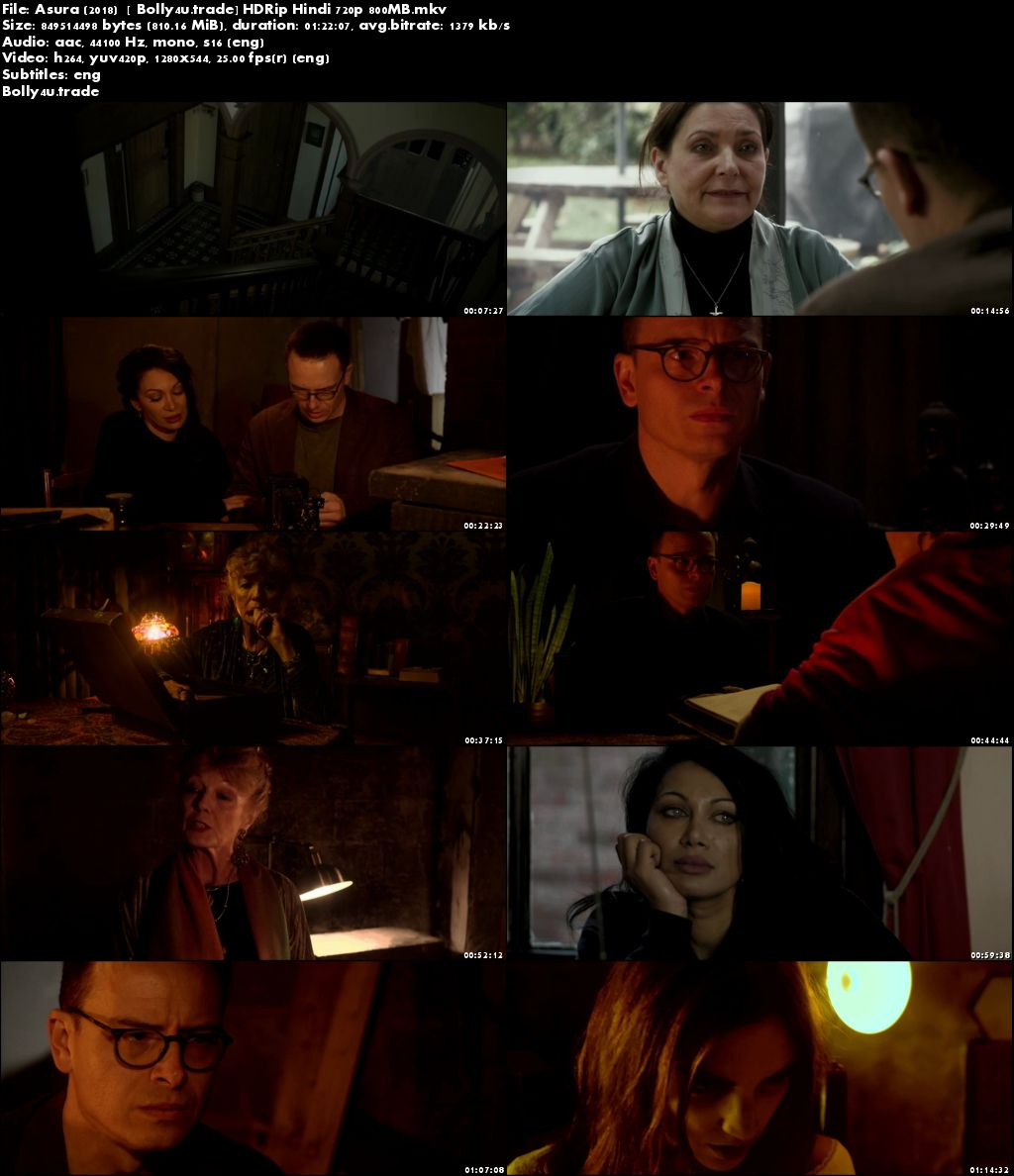 Aura 2018 HDRip 800Mb Full English Movie Download 720p