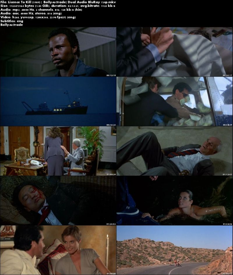 Download Film Licence To Kill 1989