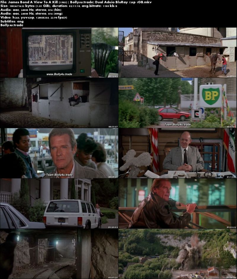 Download Film A View To A Kill 1985