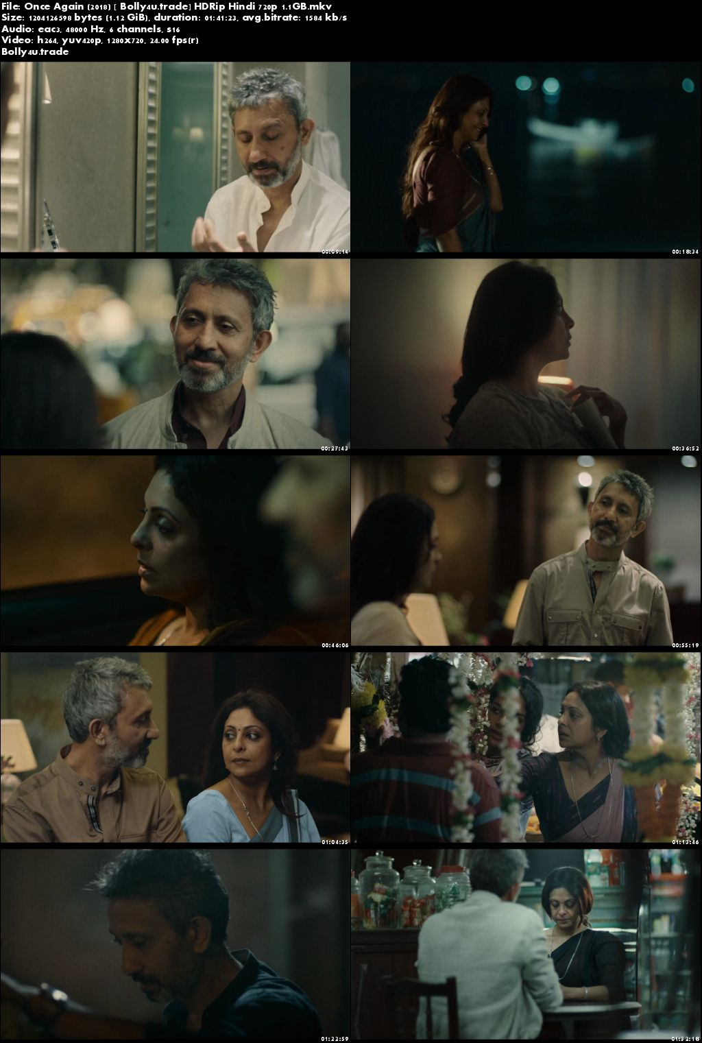 Once Again 2018 HDRip 300MB Full Hindi Movie Download 480p