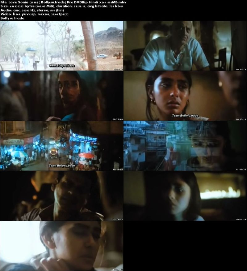 Love Sonia 2018 Pre DVDRip 600Mb Full Hindi Movie Download x264