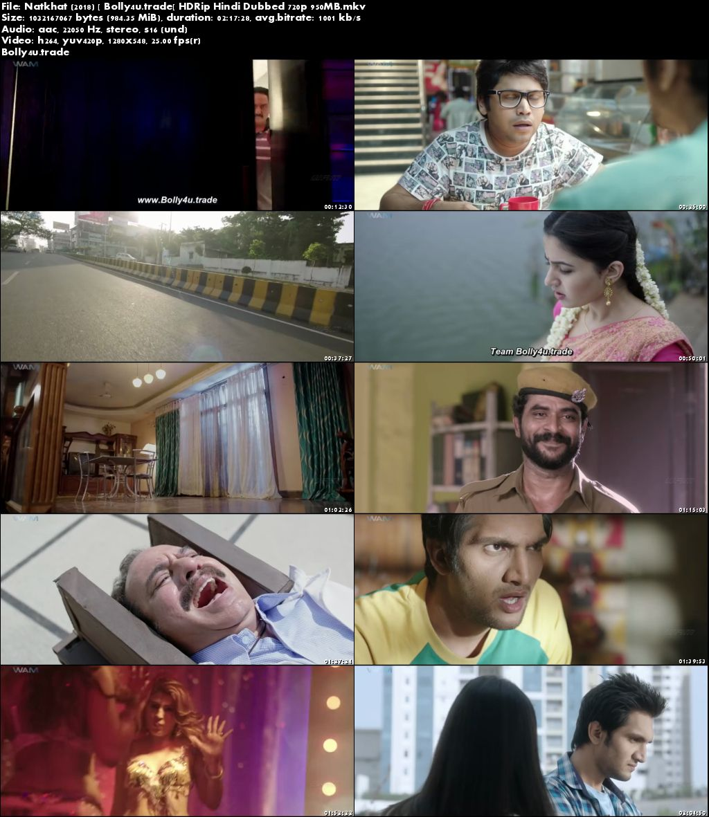Natkhat 2018 HDRip 950Mb Full Hindi Dubbed Movie Download 720p
