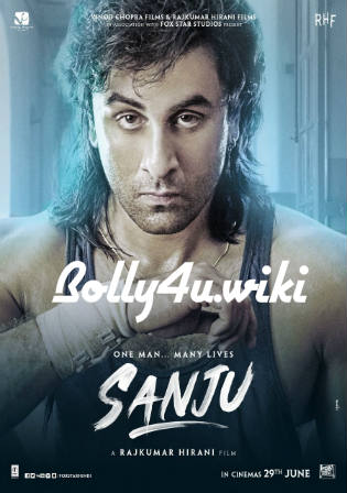 Sanju 2018 BluRay 1GB Full Hindi Movie Download 720p Watch online Free Bolly4u
