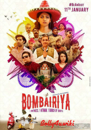 Bombariya 2019 Pre DVDRip 700MB Full Hindi Movie Download x264 Watch Online Free bolly4u