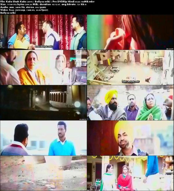 Kala Shah Kala 2019 Pre DVDRip 700Mb Punjabi x264 Download