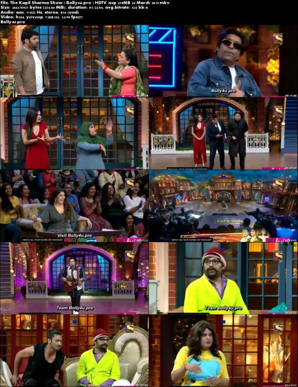 The Kapil Sharma Show HDTV 480p 250MB 24 March 2019 Download