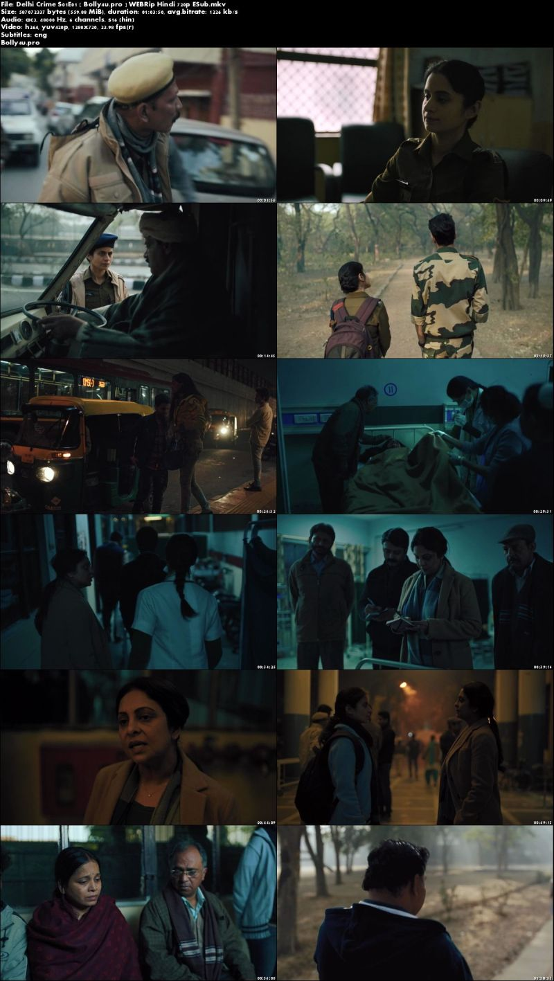 Delhi Crime 2019 WEBRip 3GB Hindi Complete Web Series 720p Download