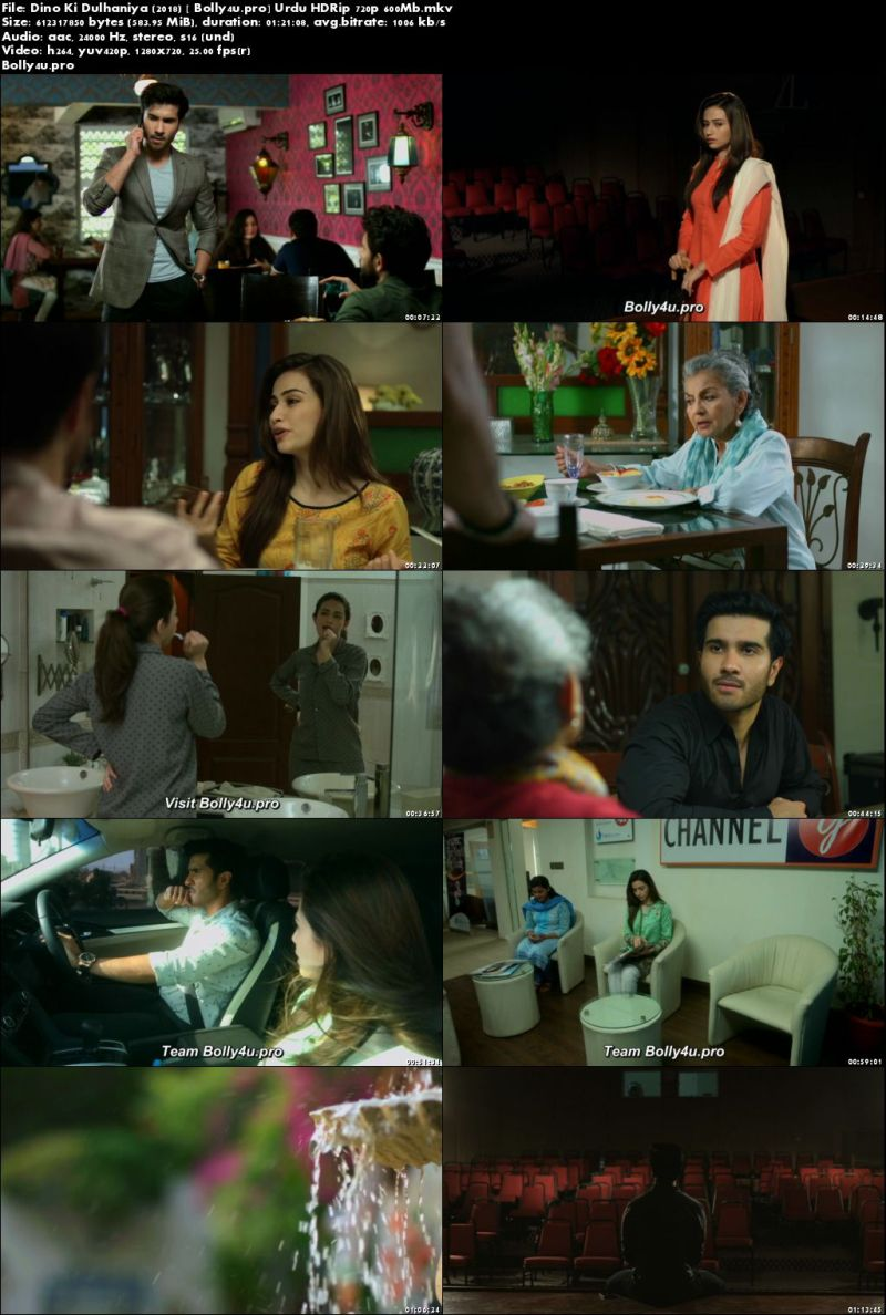 Dino Ki Dulhaniya 2018 HDRip 600Mb Urdu 720p x264 Download