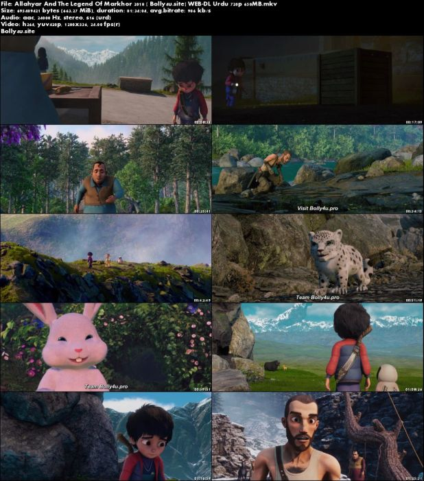 Allahyar And The Legend Of Markhor 2018 WEB-DL 650MB Urdu 720p Download