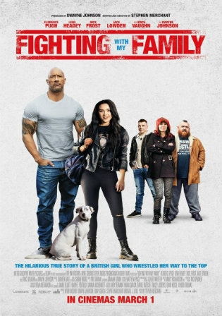 Fighting with My Family 2019 WEB-DL 900MB English 720p ESub Watch Online Full Movie Download bolly4u