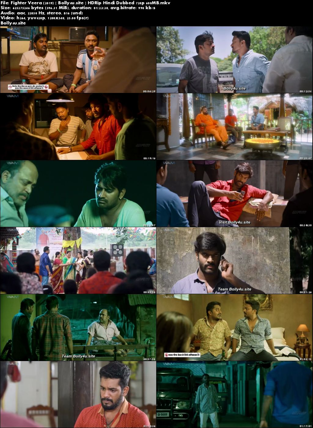 Fighter Veera 2019 HDRip 250MB Hindi Dubbed 480p Download