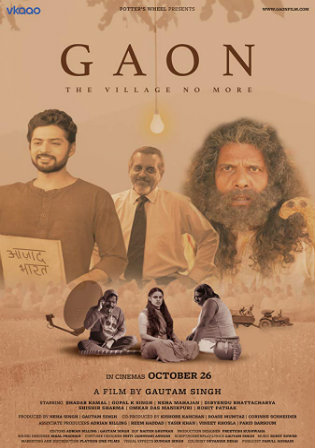 Gaon 2018 WEBRip 350MB Hindi 480p ESub Watch Online Full Movie Download bolly4u