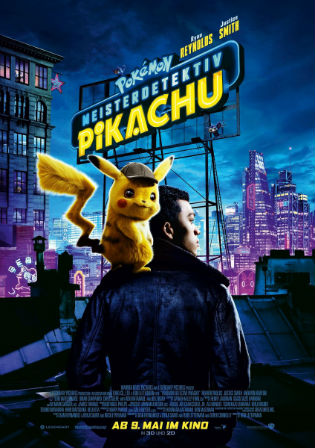 Pokémon Detective Pikachu 2019 HDCAM 950MB Hindi Dual Audio 720p Watch Online Full Movie Download bolly4u