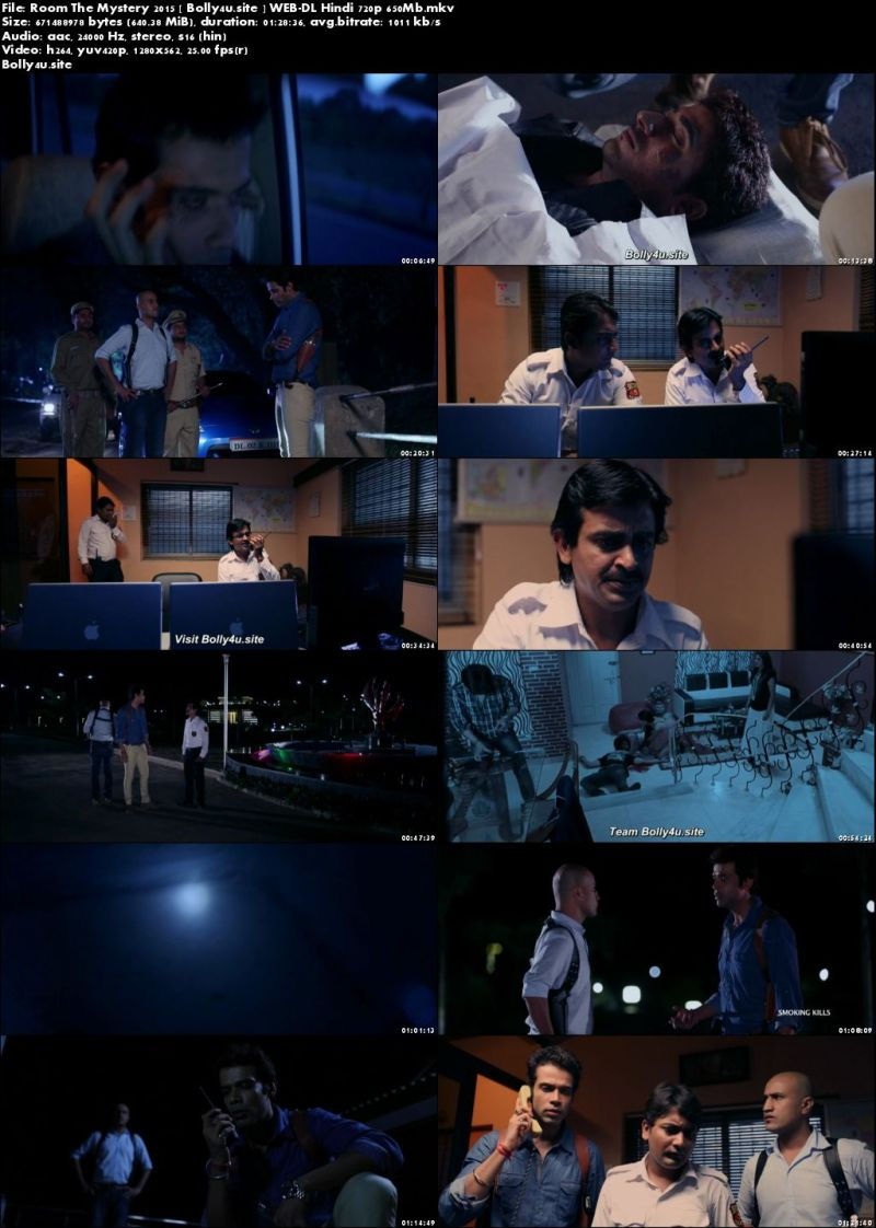 Room The Mystery 2015 WEB-DL 650Mb Hindi 720p Download