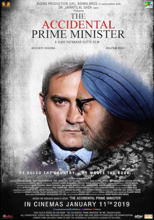 The Accidental Prime Minister 2019 HDRip 300MB Hindi 480p Watch Online Full Movie Download