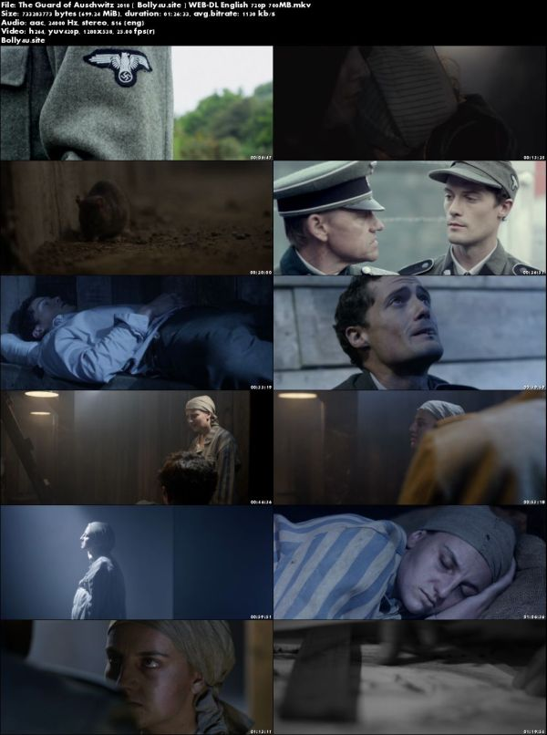 The Guard of Auschwitz 2018 WEB-DL 700MB English 720p Download