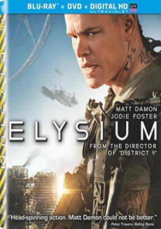 Elysium 2013 BRRip 850Mb Hindi Dual Audio ORG 720p ESub Watch Online Full Movie Download bolly4u