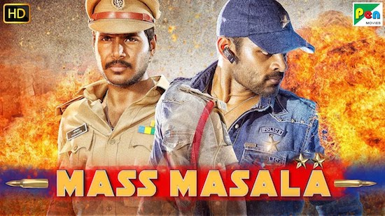 Mass Masala 2019 HDRip 350MB Hindi Dubbed 480p Watch Online Full Movie Download bolly4u