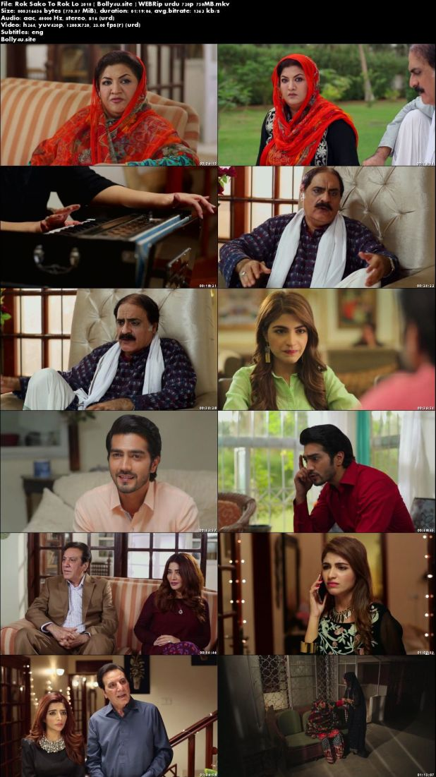 Rok Sako To Rok Lo 2018 WEBRip 750MB Urdu 720p ESub Download