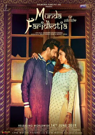 Munda Faridkotia 2019 Pre DVDRip 850MB Punjabi 720p Watch Online Full Movie Download