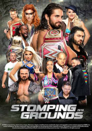 WWE Stomping Grounds 2019 PPV 700MB 480p WEBRip x264 Watch Online Free Download bolly4u