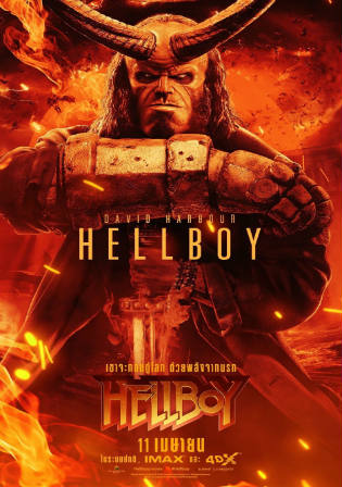 Hellboy 2019 HC HDRip 300Mb Hindi Dual Audio 480p Watch Online Full Movie Download bolly4u