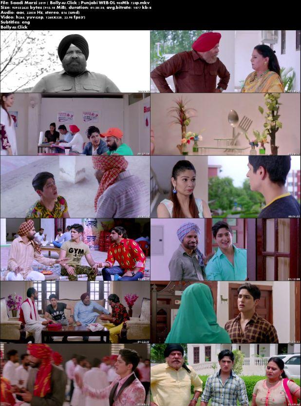Saadi Marzi 2019 WEB-DL 900MB Punjabi 720p Download