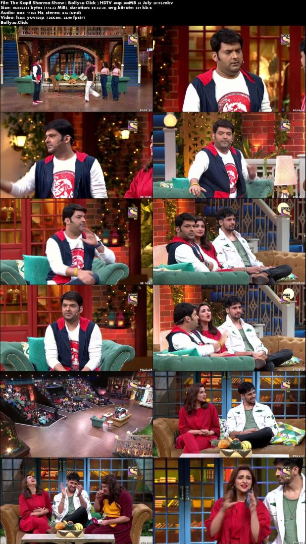 The Kapil Sharma Show HDTV 480p 200MB 28 July 2019 Download