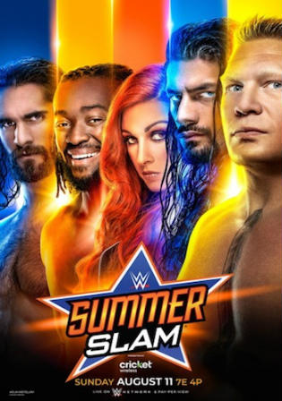 WWE Summer Slam 2019 PPV WEBRip 480p 800MB Watch Online Free Download Bolly4u
