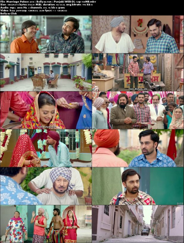 Marriage Palace 2018 WEB-DL 950Mb Punjabi 720p Download