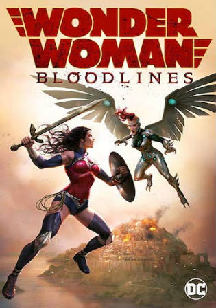 Wonder Woman Bloodlines 2019 WEB-DL 250Mb English 480p ESub Watch Online Full Movie Download bolly4u
